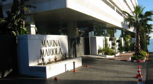 Marina Mariola Marbella 1 bedroom duplex apartment