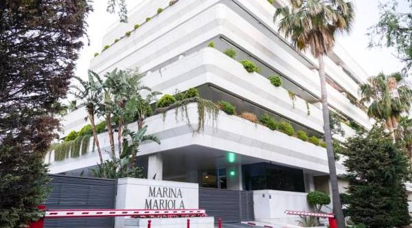 Marina Mariola Marbella,  Elegant 2 bedrooms Apartment facing East.